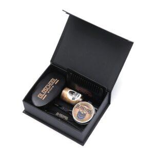 Oldschool-gaveæske-barbergrej-barbersæt-skægolie-skægbalsam