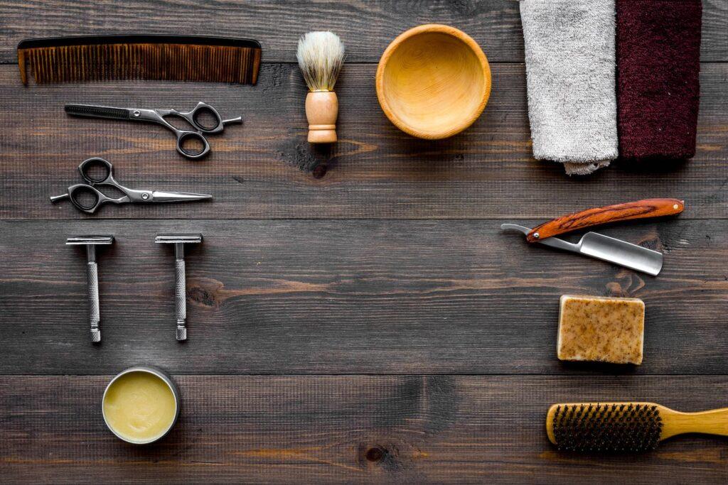 Gammeldags Barbergrej vintage
