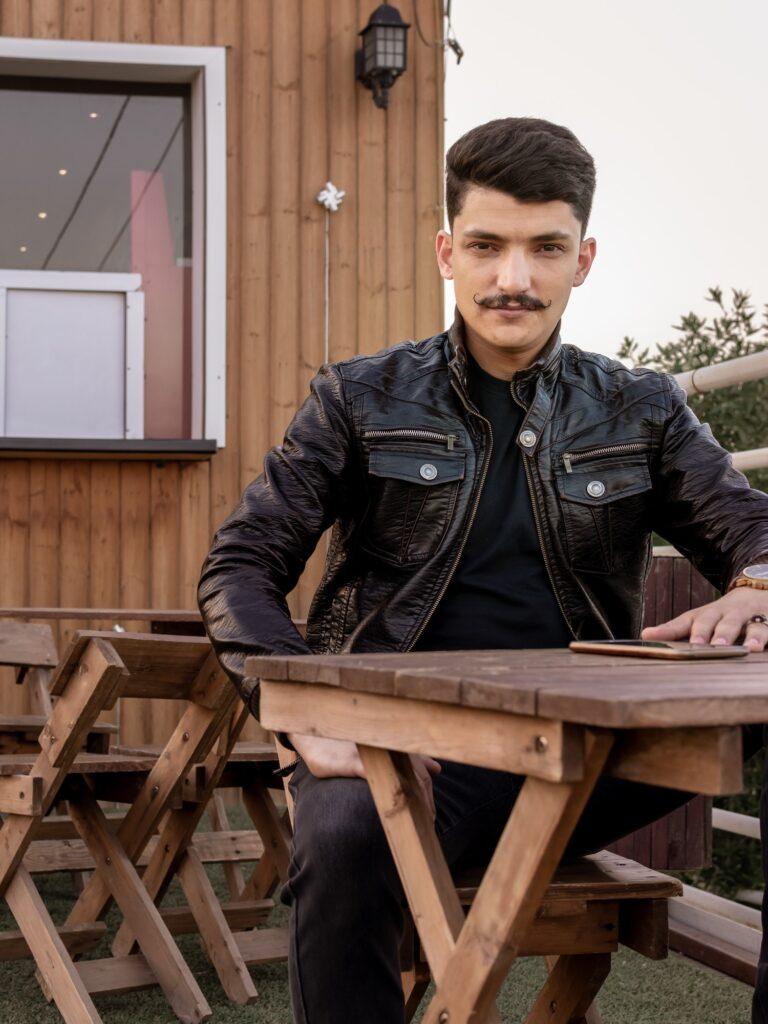 Skæg mustache og overskæg