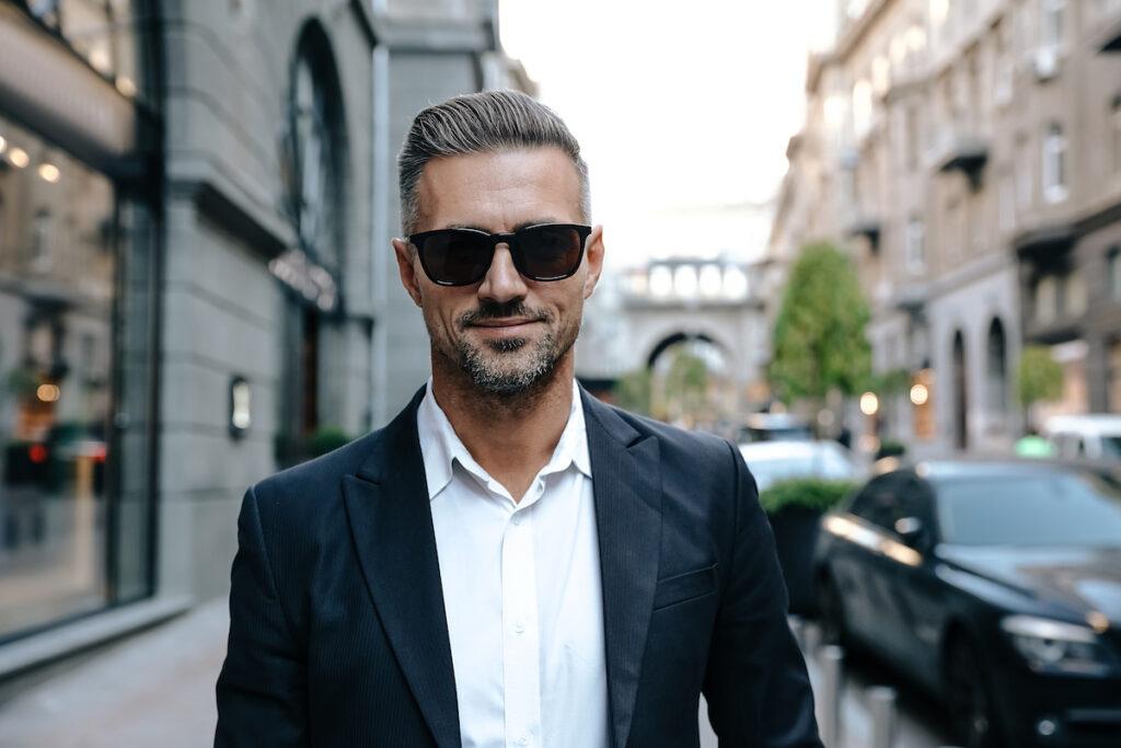 Skæg stil for business look, forretnings og business skægget