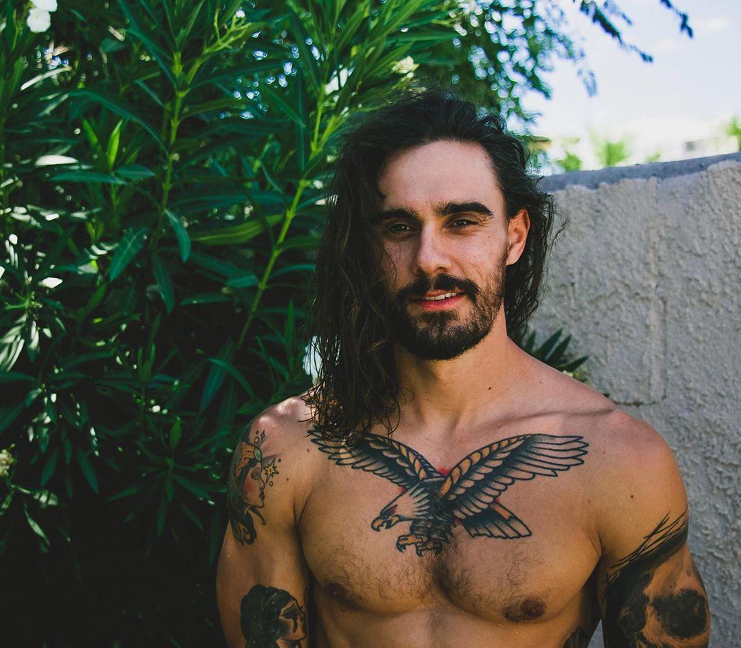 skæg influencer instagrammar profil