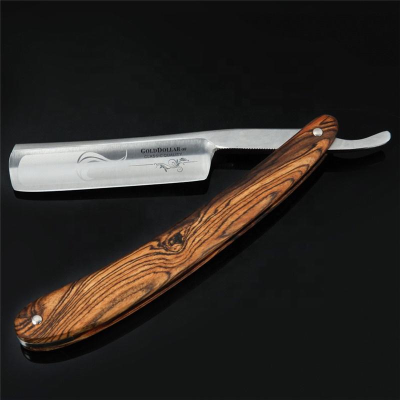 Wooden Straight Razor | Ragekniv image