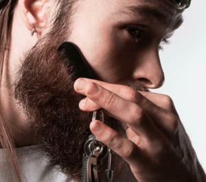 mini skæg kam