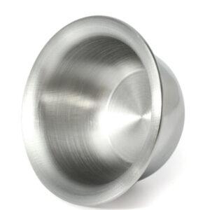 blank metal barberingsskål