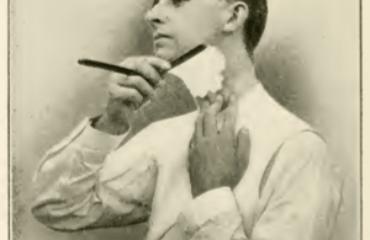barbering på hals